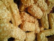 Crisp Sesame Breadsticks