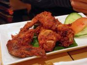 Fried chicken wings - a delicious snack