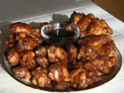 SmokingPit.com - Kentucky Bourbon Glazed Wings Slow Smoked on the Yoder YS640 Smoker