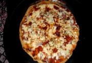 No Oven Pizza - Pan Pizza (Indian Style)