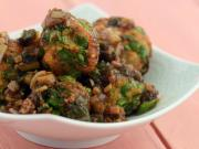 Vegetable Balls In Hot Garlic Sauce By Tarla Dalal
