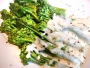 Sprouting Broccoli with White Sauce
