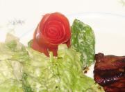 Rose Bud Tomato Garnish