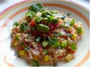 Raw Mexican Rice