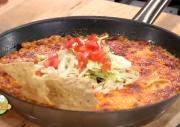 Easy Chicken Nacho Bake