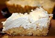 Coconut Bavarian Pie