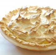 Peanut Butter Meringue Pie