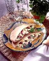 Crunchy Turkey Pitas