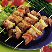 kebabs are low fat party foods