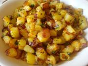 My Version of Spicy Potato Fry