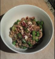 Green Bean And Chick Pea Salad
