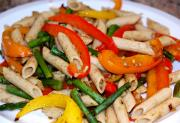 Penne Pasta With Peppers
