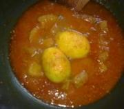 Egg curry made Indian style