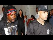 Chris Brown's and Wale Chill at the Playhouse