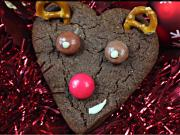 How To Make Chocolate Christmas Rudolph Biscuits