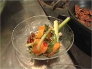 Autumn Salad with Pecans, Persimmons and Zesty Citrus Vinaigrette