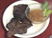 Steak with Ginger Sauce