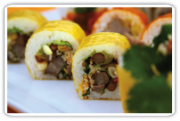 Mexicali Roll with Jalapeno Soy Sauce