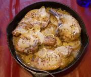 Baked Chops With Herb Gravy