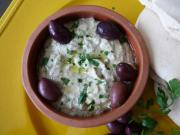 Baba ghanouj - the ubiquitous eggplant dish is probably one of the most famous Lebanese recipes