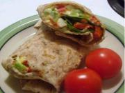 Smoked Salmon Egg Salad Wraps