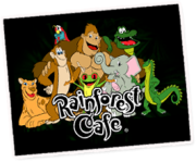 Rainforest Cafe Menu