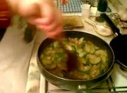 Zucchini with Oyster Sauce