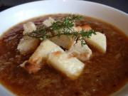 Port and Onion Soup