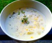 Quick Corn Chowder Mormon Style