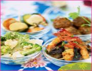 Regional varities of spanish food