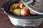Cooking cabbage in a slow cooker