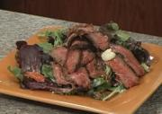Seared Steak with Blue Salad