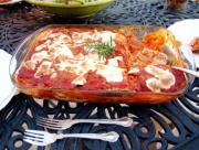 Garden Style Eggplant Parmesan
