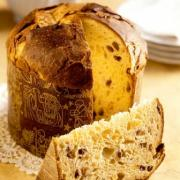 Panettone is a Italian Christmas Bread.