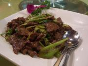 Peppery Lamb With Green Onions