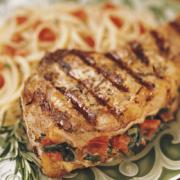 Stuffed Veal chops