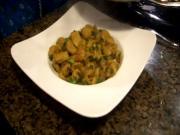 Soya Chunks Curry / Indian Veg Soya Curry