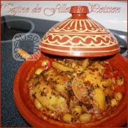 Tajine de Poisson (Filet) طجين شرائح السمك-Sousoukitchen