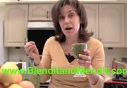 Anti Aging Vegan Salad Mix Blended Smoothie