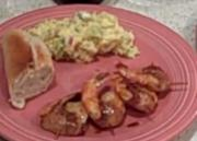 Shrimp & Bacon Wrap