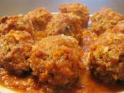 Italian Style Crockpot Meatballs