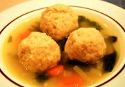 Chicken Soup With Meat Balls