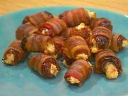 Bacon Wrapped Blackberries