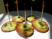Roasted Red Potatoes with Cheese, Dill & Dijon Appetizer