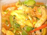 Mango chicken curry by chef shriya[:)]