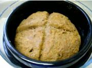 Solar Cooked Whole Wheat Soda Bread