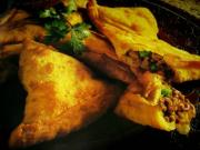 Minced Meat Samosas