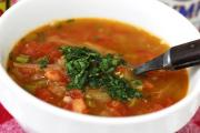 Iguana soup is an unusual edible delicacy served in South America