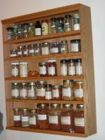 Spice stored in dark dry places
