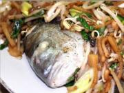 Steamed Fish with Bean Sprouts